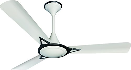 Crompton Avancer 48-inch 70-Watt Decorative High Speed Ceiling Fan (Silver and White)
