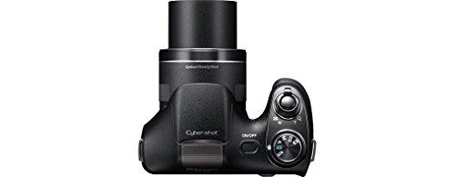Sony DSC-H300 Fotocamera Digitale Cyber-shot, Sensore Super HAD CCD da 20,1 Megapixel, Obiettivo Sony con Zoom Ottico 35x, Nero