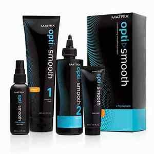 Matrix Opti.Smooth Permanent Smoothning System for Resistant Hair