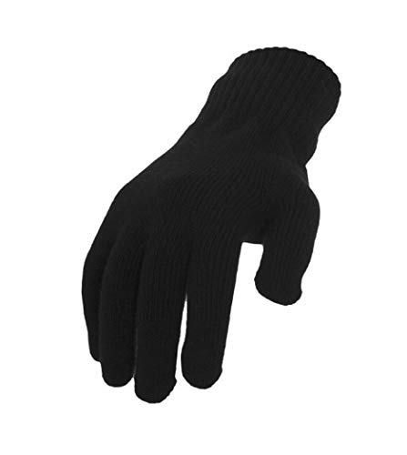 Urban Classics Knitted Gloves Gants, Noir (Black 00007), Small Mixte