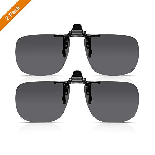 Read Optics x2 Pack Clip-On Sunglasses: Gafa Sol Flip-Up