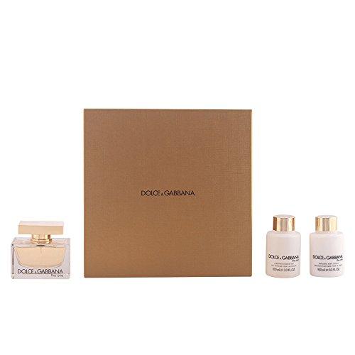 Dolce & Gabbana The One Geschenkset (EdP Spray 75ml, Bodymilk 100ml + Bodygel 100ml) - Dolce Gabbana Body Shower Gel