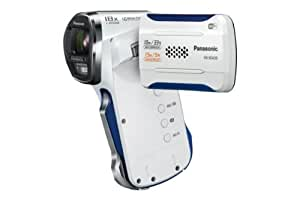 Panasonic HX-WA30EF-W Caméscope de poche Port SD/SDHC 16,4 Mpix Zoom Optique 5 x Wifi Etanche Blanc