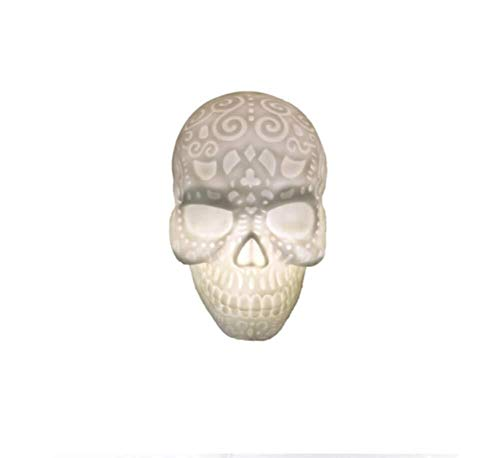 Maske Phantasie Gesichtsmaske Halloween Cosplay LED Halloween Dekoriert Tischlampe Nachtlicht Studie Schlafzimmer Wohnzimmer, Farbe: Weißlicht (Kaninchen Kostüm Streich)