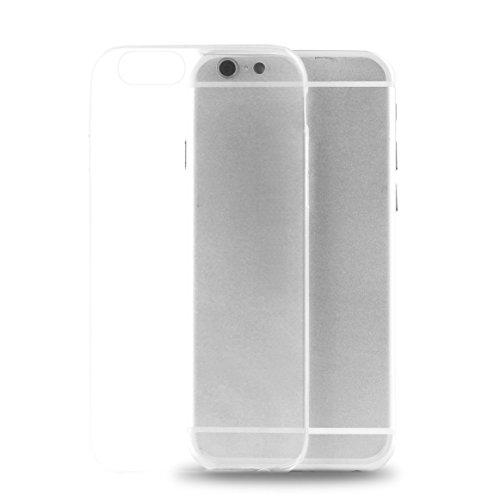Puro Back Case Ultra Slim 0.3 Schutzhülle (für Apple iPhone 7) Schwarz durchsichtig