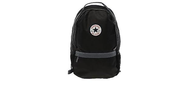 cb47cf3bdf Converse Black Backpack Stuff It Rucksack  Amazon.co.uk  Sports   Outdoors