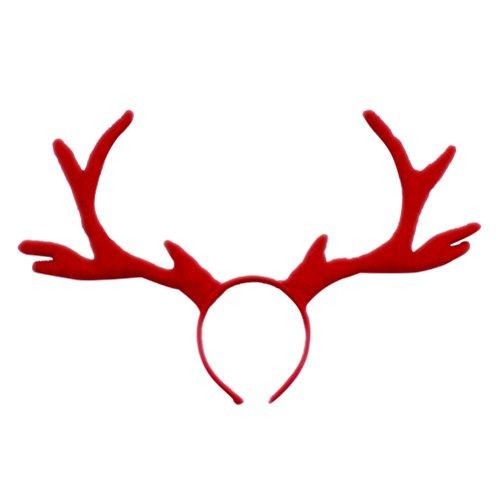 (frcolor Antlers (Oklahoma) de Renntier Haarreif Weihnachten D Antler für das Kostüm Cosplay)