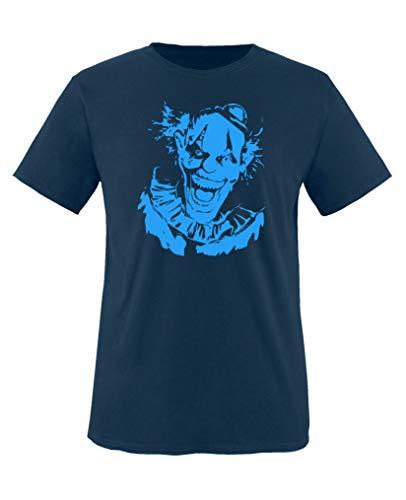 er Clown - Halloween - Jungen T-Shirt - Navy/Blau Gr. 152-164 ()