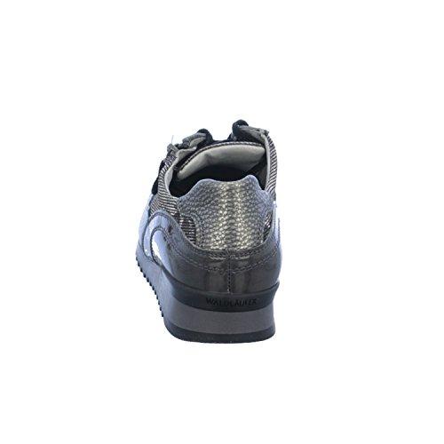 Waldläufer  370013-406-006, Baskets pour femme Gris