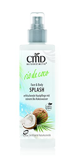 CMD Natural cosmético: Face & Body Splash Rio de coco (100ml)