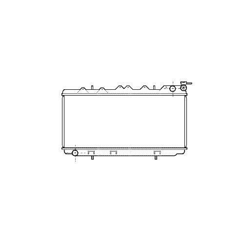 VAN WEZEL 13002114 Kühler, Motorkühlung