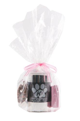 Unbekannt K9Set Geschenkset Ein T-Shirt in einer Schachtel aus Metall, ein Medaillon Identifizierung und der Hundesnacks in Knochenform (Kostüme Aus Der Schachtel)