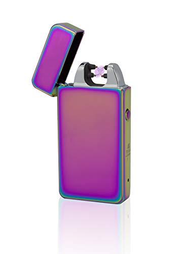 Tesla de Lighter T11Luz Arco-Mechero USB recargable Double Arc V