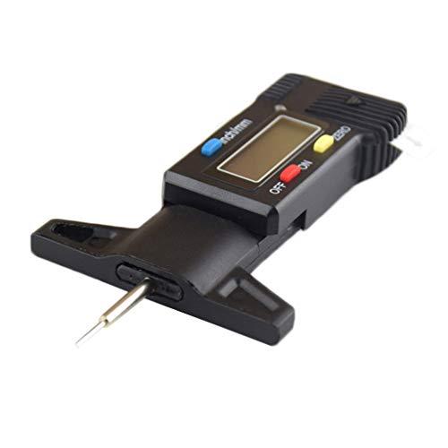 Aiming 0-25mm elettronico Digitale di profondità del Metallo del Calibro Sonda Battistrada Gage Display LCD profondità G