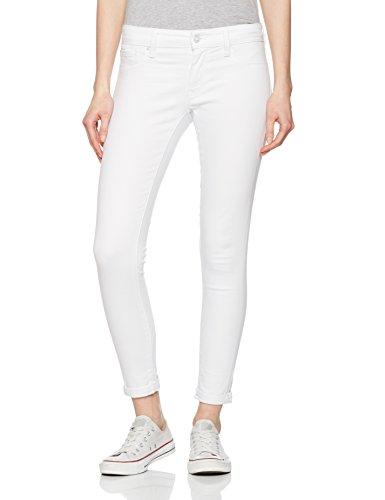 Mavi Damen Skinny Jeans Lexy, Weiß (Stay White STR 23399), W24