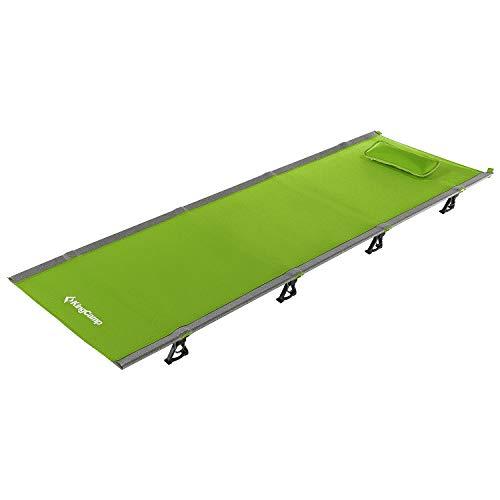 KingCamp Ultraleicht Aluminium Feldbett Campingbett bis 120 kg belastbar