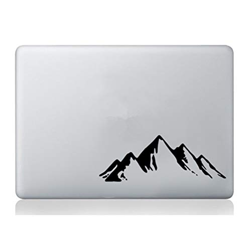 pegatinas de pared star wars pegatinas de pared para dormitorios Mountains Hills Macbook Laptop Tablet Skin 7.5 x 2.8 pulgadas