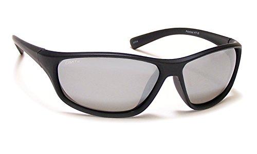 Coyote Eyewear Sportsman 's Polarisierte Sonnenbrille, Unisex, M.Black