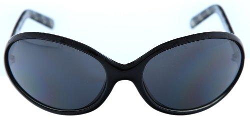 Guess Damen Sonnenbrille Schwarz GU6148-BLKCRY-3