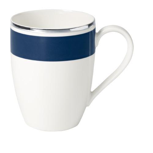 0,35L Becher 'Anmut My Colour' aus Premium Bone Porzellan Farbe: Ocean Blue