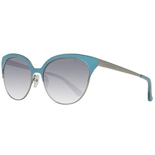 Guess MARCIANO Damen GM0751-5684C Sonnenbrille, Silber (Silver), 56