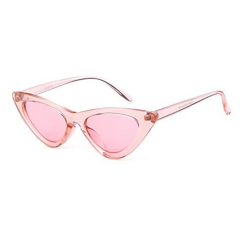 ADEWU Gafas sol ojo gato gafas protección niñas