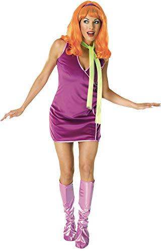 Kostüm Scooby Doo Sexy - Rubie's Scooby- DOO TM Daphne TM Erwachsene One Size Fit Kostüm bis Kleid Gr. 35,6cm