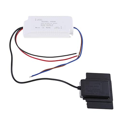 Preisvergleich Produktbild P Prettyia K3013bA-A2-BW Kapazitiver Touch Sensor Schalter Tastenmodul Blau Weißlicht für Badezimmerschrank