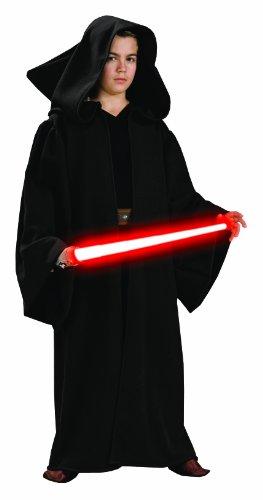 Robe Mit Kostüme Sith Kapuze (Star Wars Kinder Kostüm Sith Robe mit Kapuze Größe 122)