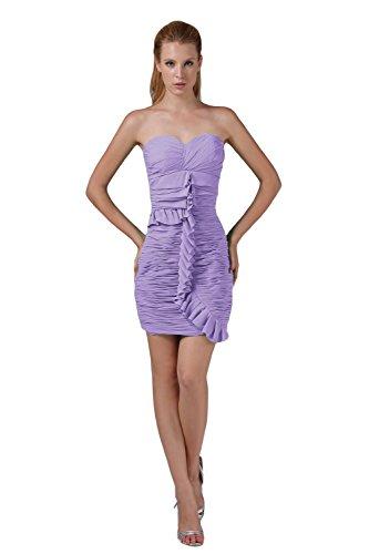 Bridal_Mall - Robe - Sans Manche - Femme Violet - Lavande