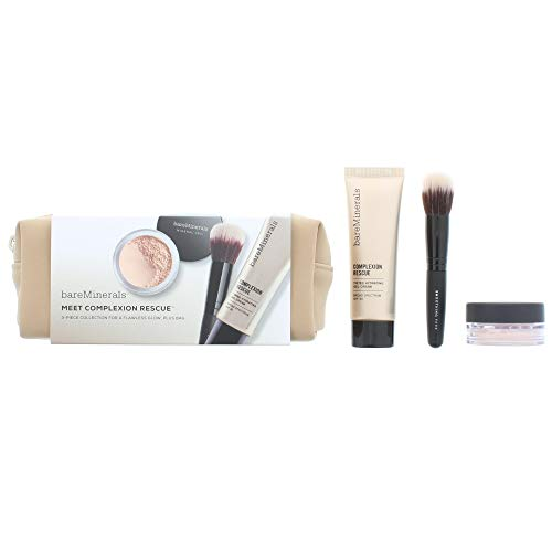 bareMinerals Bare Minerals meets Complexion Rescue Collection plus Tasche, Opal 01 - Getönten Mineral Make-up