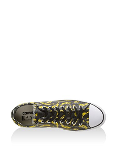 Converse Sneaker Grau/Gelb