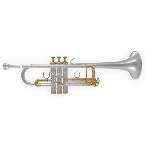 Tuyama® TTR-21S C-Trompete Trompete in C versilbert 6001S semiprofessionell