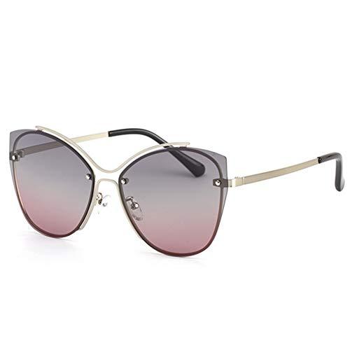 ETH UV400 HD Polarisierte Sonnenbrille-Art- Und Weisedame Driver Driving Outdoor Glasses dauerhaft (Farbe : Pink)
