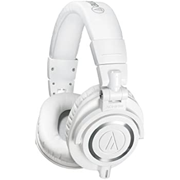 Audio-Technica ATH-M50X Studio Monitor Professional Headphones - White