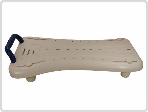 Badewannenbrett Badewannensitz Wannensitz Sitzbrett mit Seifenablage und mit Griff *Top-Qualität zum Top-Preis*