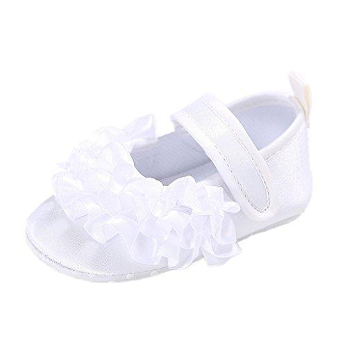 M Schwarz 11 12 3 Weiß Monate Auxma 6 Baby Rutschfeste Für 3 Prinzessin Weiche Sohle Schuhe 6nvx8gOq
