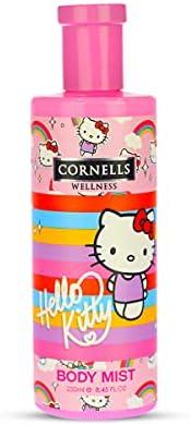 Cornells Wellness Hello Kitty Cartoon Body Mist 250ML for Kids - Fragrance