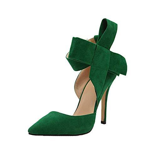 Chaussures Bottines Femme, Xinantime EsCarPins Pour Femmes AveC un nœud PaPillon et des Talons Aiguilles, Ainsi que des Chaussures Taille Forte Chaussures