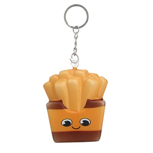 Auied Lernspielzeug Squishies Kawaii Cartoon Chips Langsam Steigende Creme Duftenden SchlüSselbund Stressabbau Dekompressionsspielzeug