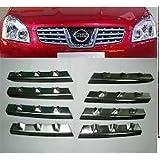 Qashqai rejilla de coche cromado para Nissan Qashqai 2007 ...