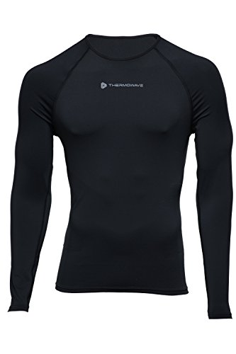 thermowave Herren 's Progressive Long Sleeve Shirt S schwarz / schwarz