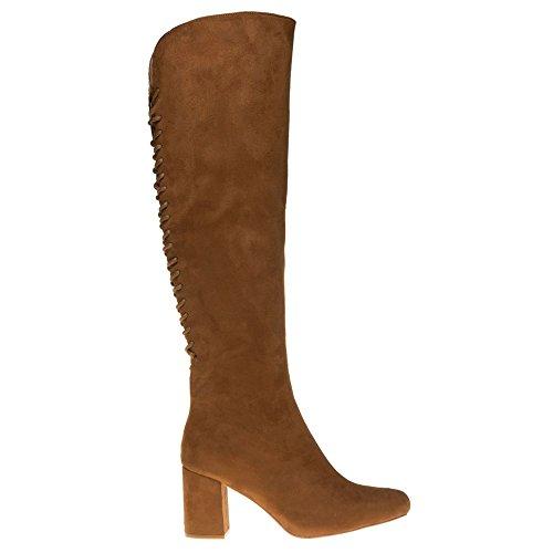 Dolcis Kassie Femme Boots Fauve Fauve