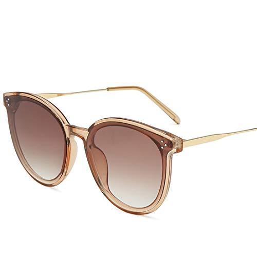 Fusanadarn Bonbonfarbene Sonnenbrillen für Herren Damen Street Fashion Glas Radfahren Laufen Fahren Angeln (Color : B)
