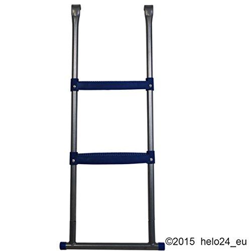 Einstiegsleiter für 430 cm Trampolin in blau - 3