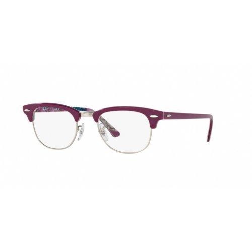Rayban Unisex-Erwachsene Brillengestell RX5154, Violett (Violet On Texture Camuflage), 49
