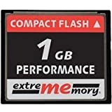 Extrememory Compact Flash (CF) 1GB 120x Performance (Retailverpackung)