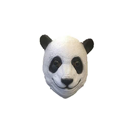 schatz Panda Halloween Maske, Horror Haunted House Bar Dance Cos ()