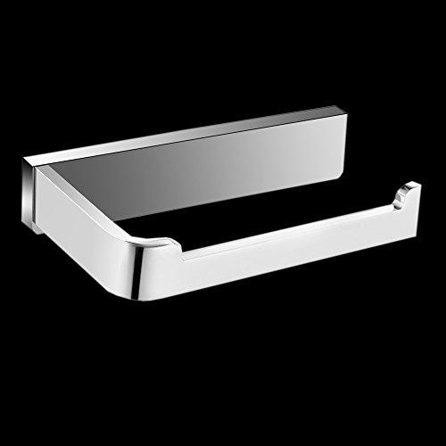 Klopapierhalter aus Kupferlegierung Toilettenpapierhalter für Badzimmer WC-Papierhalter