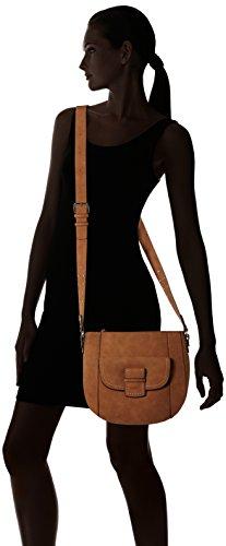 Gabor Damen Luisa Umhängetasche, 10x25,5x28,5 cm Braun (Cognac)